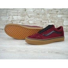 Кеды Vans Old Skool Vinous-Black Gum (W221)