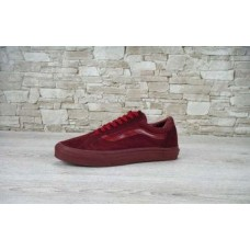 Кеды Vans Old Skool Vinous-Red (W222)