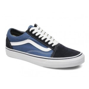 Кеды Vans Old Skool dark blue-white (VA116)
