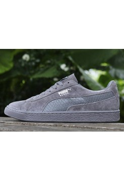 Кроссовки Puma Suede Leather Classic Grey (О319)