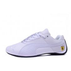 Кроссовки Puma Ferrari Low All White (О472)