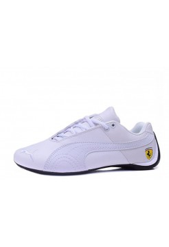 Кроссовки Puma Ferrari Low All White (О472)