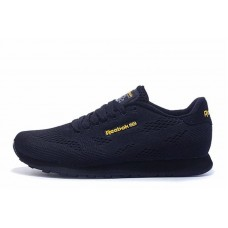 Кроссовки Reebok CL Engineered Mesh Dark Navy Gold (О515)