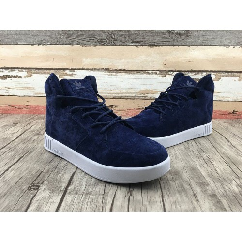 Кроссовки Adidas Originals Tubular Invader Strap 2.0 Navy (О325)