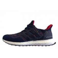 Кроссовки Adidas Ultra Boost Multicolor Dark Navy (О327)
