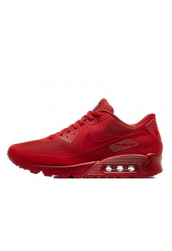 Кроссовки Nike Air Max 90 Hyperfuse Red (O-511)