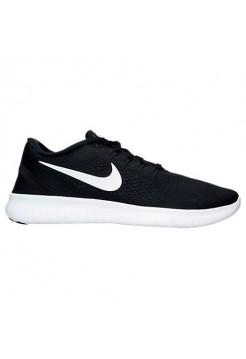 Кроссовки Nike Free Run Flyknit V.1 Black White (ОЕ124)