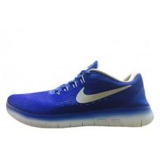 Кроссовки Nike Free Run Flyknit V.1 Blue White (О138)