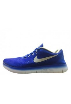 Кроссовки Nike Free Run Flyknit V.1 Blue White (О138)