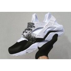 Кроссовки Nike Air Huarache Custom White Black (О212)