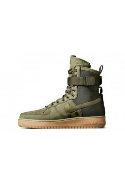 Кроссовки Nike Air Force High SF1 Green (O518)