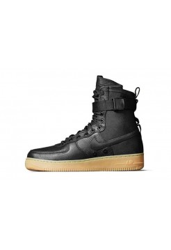 Кроссовки Nike Air Force High SF1 Black (O518)