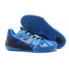 Кроссовки Nike Zoom Kobe 9 Blue Miracle (О-357)