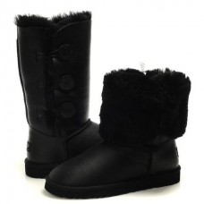 АКЦИЯ! UGG Bailey Button Triplet black пропитка