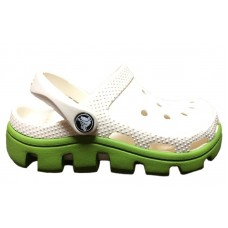 Шлепанцы Crocs Classic Cayman White Green (O426)