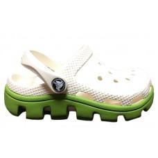 Шлепанцы Crocs Classic Cayman White Green (O426)