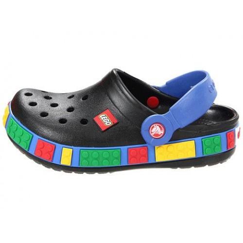 Шлепанцы Crocs Crocband Lego Black (О423)