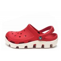 Crocs Duet Sport Clog Red White (О429)