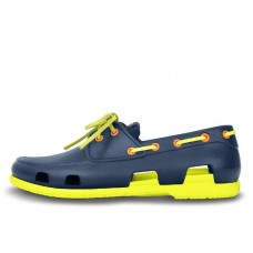 Crocs Beach Line Boat Navy Citrus (О188)