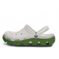 Crocs Duet Sport Clog White Green (О436)