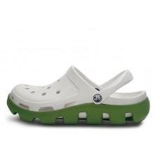 Crocs Duet Sport Clog White Green (О436)