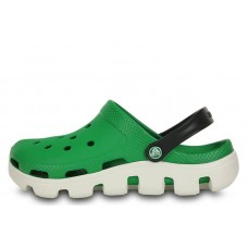 Crocs Duet Sport Clog White Green (О227)