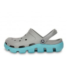 Crocs Duet Sport Clog Grey Light Blue (О229)