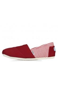 Эспадрильи Toms Classic Красные (О129)