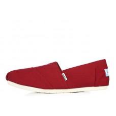 Эспадрильи Toms Classic Красные (О139)