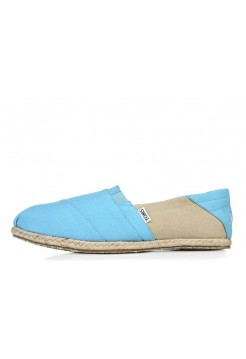 Эспадрильи Toms Classic Серо-голубые (О140)
