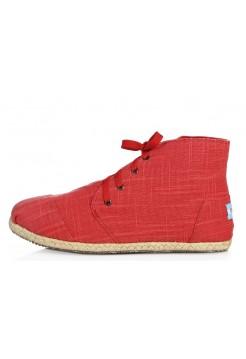 Слипоны Toms High Red (О541)