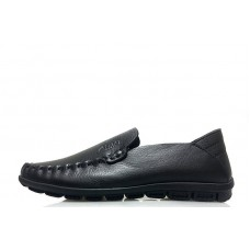 Туфли Clarks Casual Moccasin Black (О439)