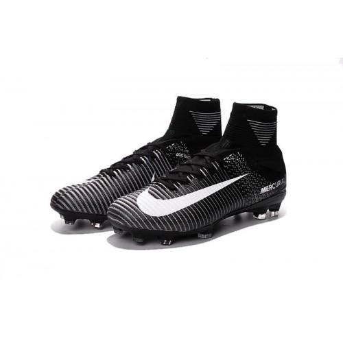 Футбольные бутсы Nike Mercurial Superfly V Black (Е001)