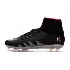 Футбольные бутсы Nike Hypervenom Phantom II Neymar x Jordan FG Black (Е002)