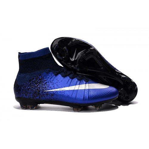 Футбольные бутсы Nike Mercurial Superfly CR7 Natural Diamond FG (Е004)
