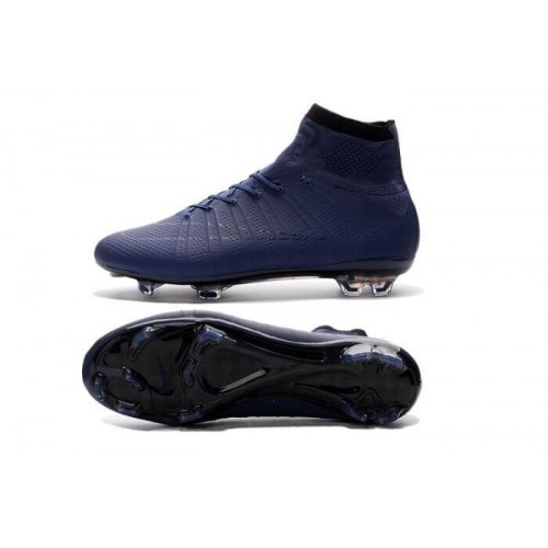 Футбольные бутсы Nike Mercurial Superfly 2016 FG Navy Blue (Е005)