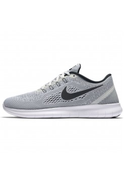 Кроссовки Nike Free Run Grey-Black (Е124)