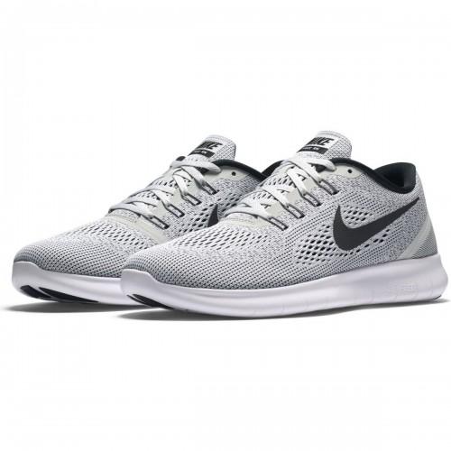 Кроссовки Nike Free Run Grey-Black (Е124)