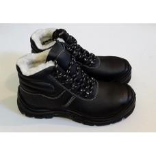Ботинки Warmer на меху Черные (A-N21)
