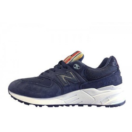 Кроссовки New Balance 999 Rainbow Navy (О119)