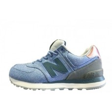 Кроссовки New Balance ML 574 Jeans Blue (О117)