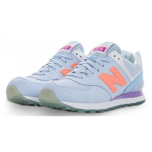 Кроссовки New Balance WL 574 BWC Sky Foam Summer (О118)