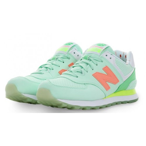 Кроссовки New Balance WL 574 BWC Sea Foam Summer (О112)