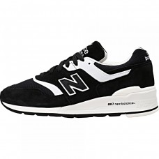 Кроссовки New Balance 997 White-Black (Е411)