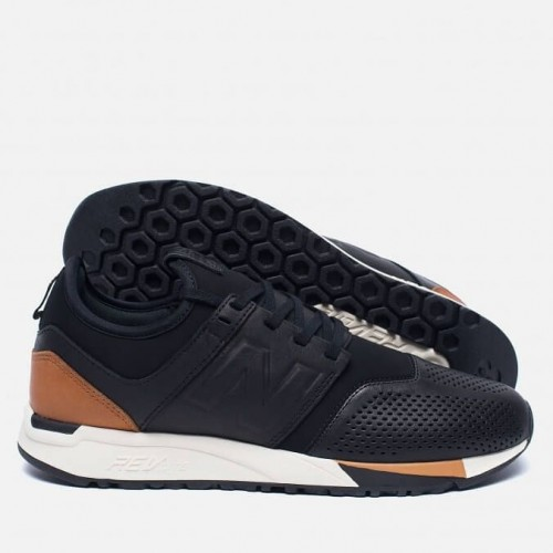 Кроссовки New Balance 247 Luxe Pack Black (Е114)