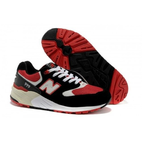 Кроссовки New Balance 999 Black red (Е119)