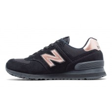Кроссовки New Balance 574 Black With Steel (Е617)