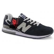 Кроссовки New Balance 996 Темно-синие (А122)