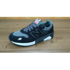 Кроссовки New Balance 580 Серо-черные (А223)