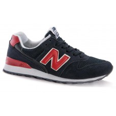 Кроссовки New Balance 996 black/red (А130)